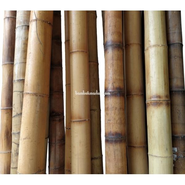 Бамбуковый ствол, д. 11-12 см, L 3м, декоративный СОРТ 2