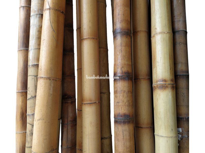 Бамбуковый ствол, д. 11-12 см, L 3м, декоративный СОРТ 2  – фото 1