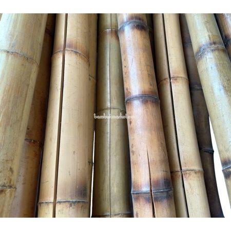 Бамбуковый ствол, д. 11-12 см, L 3м, декоративный СОРТ 3 - фото 1