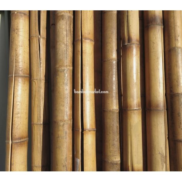 Бамбуковый ствол, д. 9-10 см, L 3м, декоративный СОРТ 3