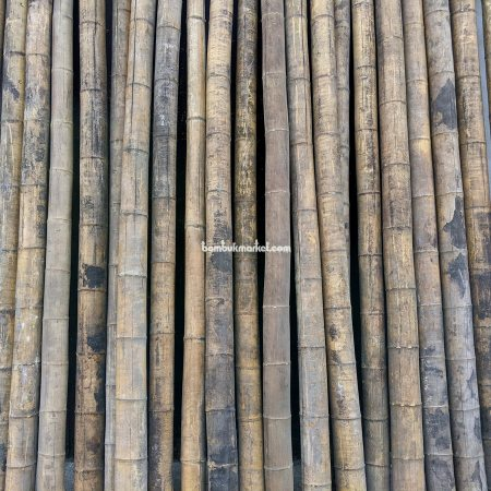 Бамбуковый ствол д.9-12см, L 3,0м СОРТ 3 - фото 1