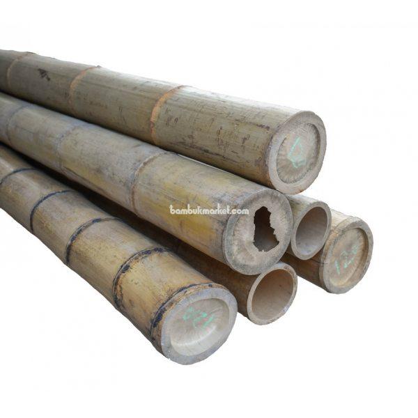 Бамбуковый ствол, д.12-12.5см, L 3м, натуральный