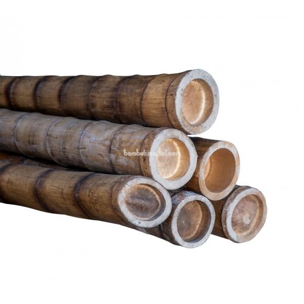 Бамбуковый ствол, д. 12-14 см, L 3м, декоративный СОРТ 2  – фото 6