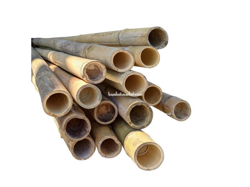 Бамбуковый ствол, д.3-3,3см, L 3м, декоративный – фото 5