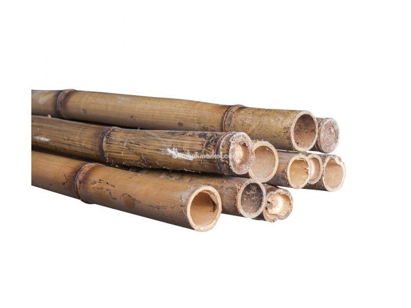 Бамбуковый ствол, д. 3-4 см, L 3м, декоративный СОРТ 2 – фото 1