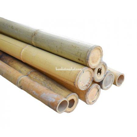 Бамбуковый ствол, д.7-7.5см, L 3м, натуральный, СОРТ 2 - фото 1