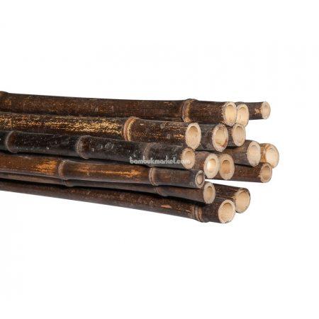 Бамбуковый ствол, д.1,8-2см, L2м, черный - фото 1