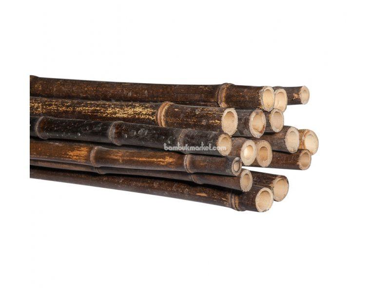Бамбуковый ствол, д.1,8-2см, L2м, черный – фото 2
