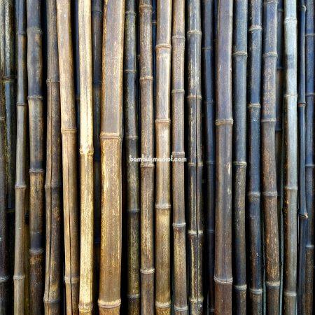 Бамбуковый ствол черный д.2-3см, высота 2 м - фото 1