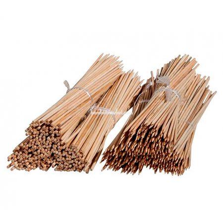 Бамбуковый прут для цветов, д. 0,7см, L 0,9м - фото 1