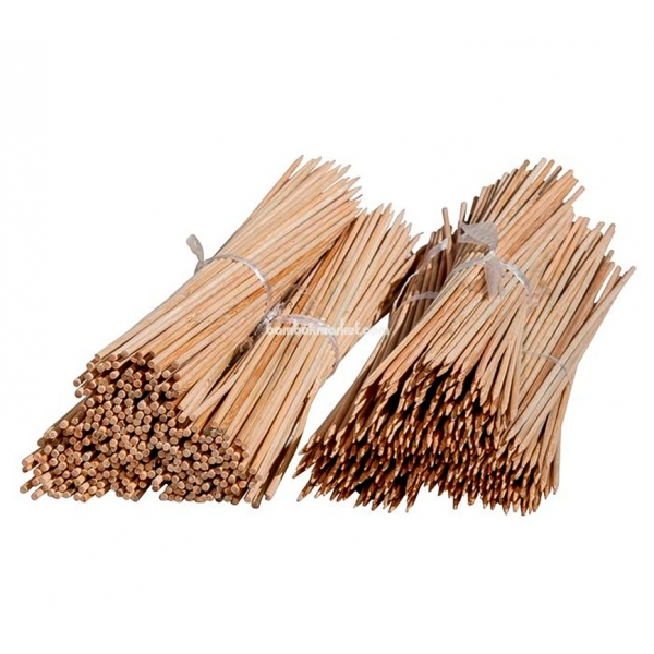 Бамбуковый прут для цветов, д. 0,7см, L 0,9м – фото 2