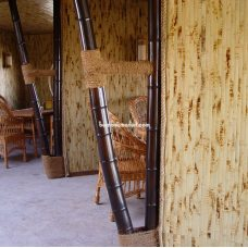 Бамбуковые обои в интерьере – фото 5
