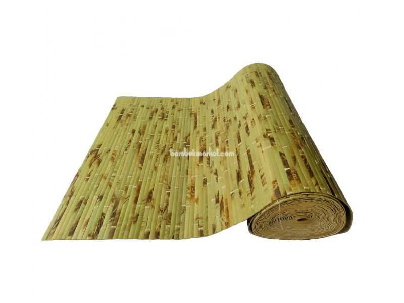 Бамбуковые обои,15х1,0м,черепаховые, нелак.,полоса 17мм – фото 8