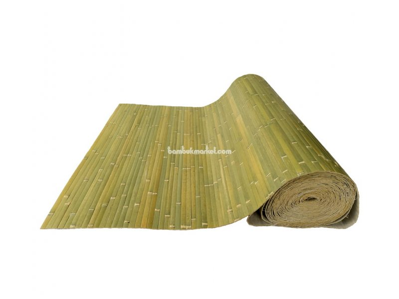 Бамбуковые обои,15х1,0м,бледно-зеленые,нелак.,полоса 17мм – фото 7