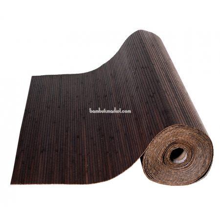 Бамбуковые обои,10х2,5м, венге,нелак, полоса 8мм - фото 1