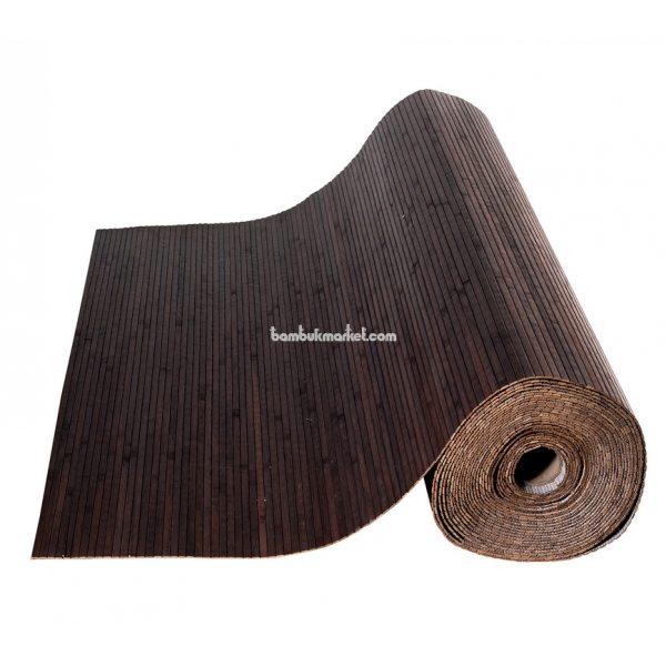 Бамбуковые обои,10х1,5м, венге,нелак, полоса 8мм – фото 11