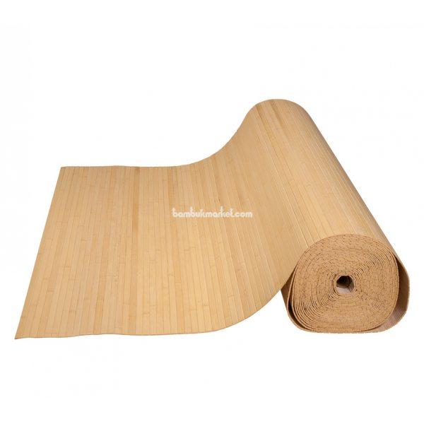 Бамбуковые обои,10х0,9м, светлые,нелак.,полоса 12мм
