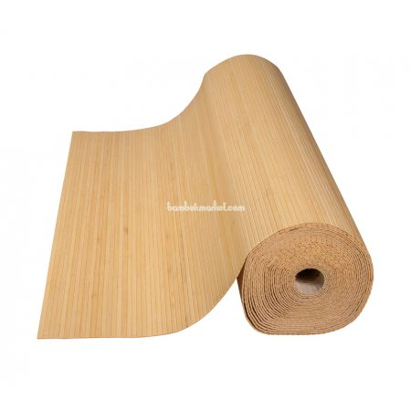 Бамбуковые обои,10х2,0м, светлые,нелак.,полоса 8мм - фото 1