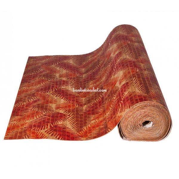 Бамбуковые обои,10х0,9м, темные,нелак.,полоса 17мм. Папоротник – фото 9