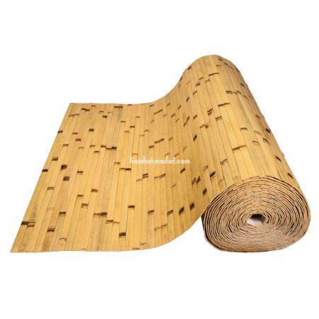 Бамбуковые обои,10х0,9м, светлые/обожженные,нелак.,полоса 17мм - фото 1