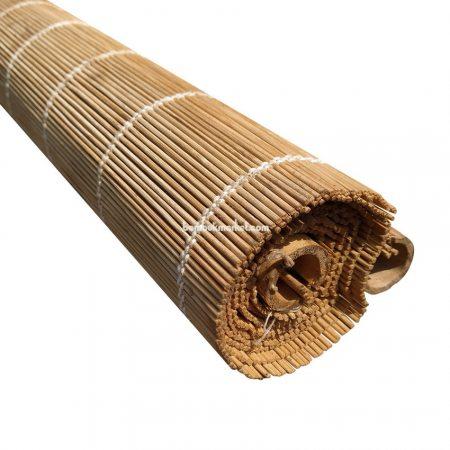 Жалюзи из бамбука, 1,5х1,6м., коричневые,п.3мм, С2 - фото 1