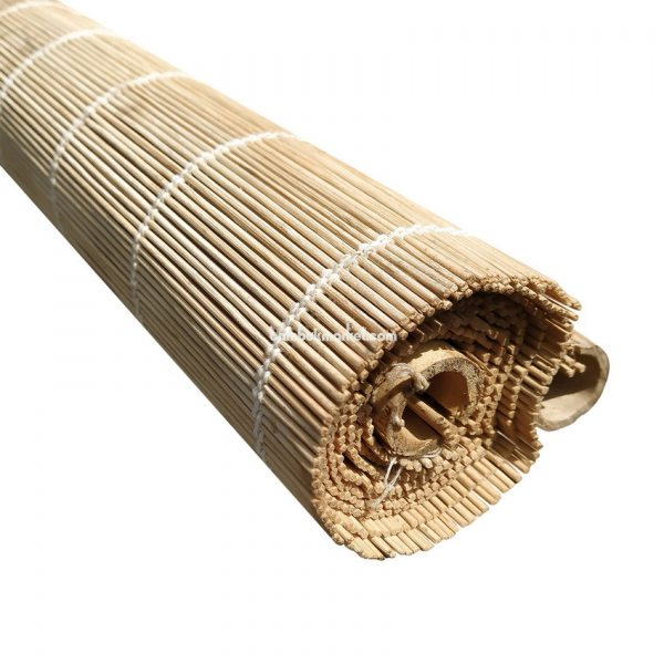 Жалюзи из бамбука, 1,3х1,6м., светлые,п.3мм, С2 – фото 8