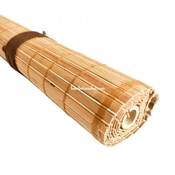 Жалюзи из бамбука, 1,2х1,6м., коричневые,п.10мм, С2 – фото 2