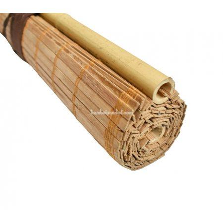 Жалюзи из бамбука, 1,4х1,6м., коричневые,п.10мм, С2 - фото 1