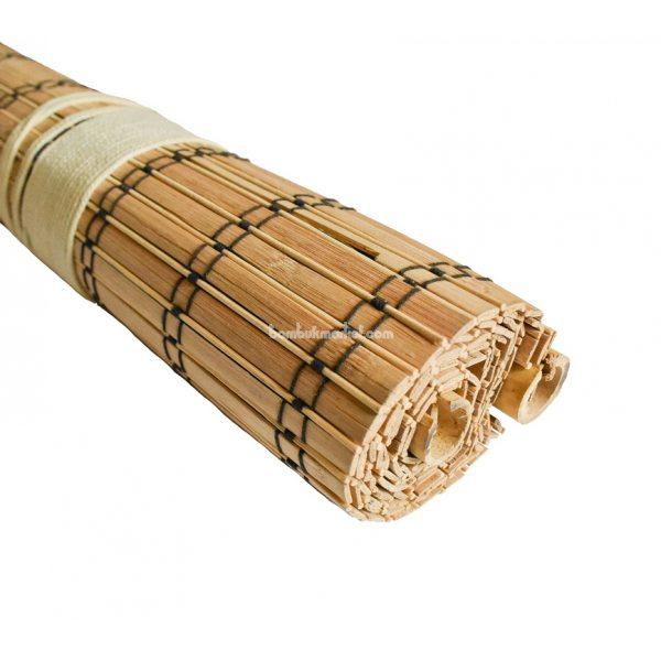Жалюзи из бамбука,1,3х1,6м.,коричневый, п.10мм