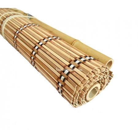 Жалюзи из бамбука,1,2х1,6м.,светлый/коричневый, п.5мм