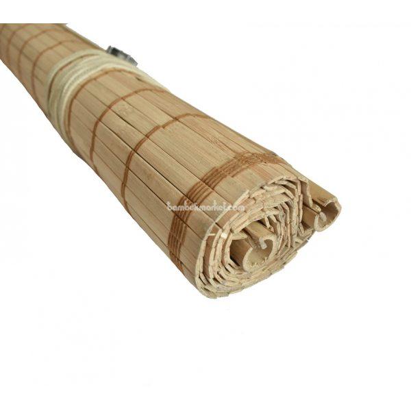 Жалюзи из бамбука,1,5х1,6м.,светлый, п.10мм