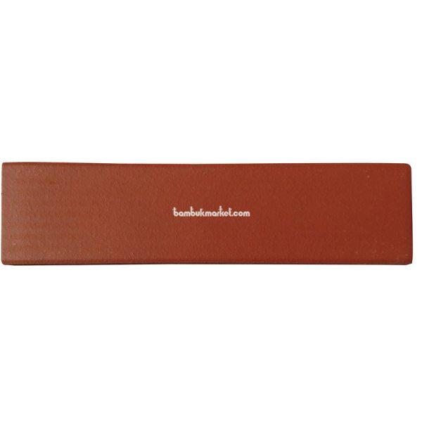 Фасадная плитка клинкерная 240*60*9мм св. красный – фото 3