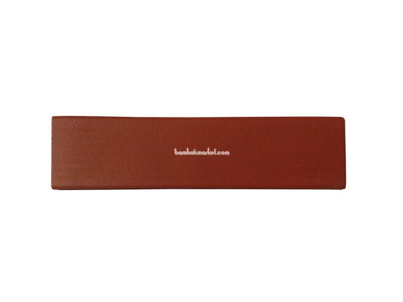 Фасадная плитка клинкерная 240*60*9мм т. красный – фото 3
