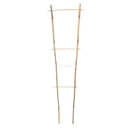 Бамбуковая опора лесенка для растений  2*3, L 0.7м - фото 1