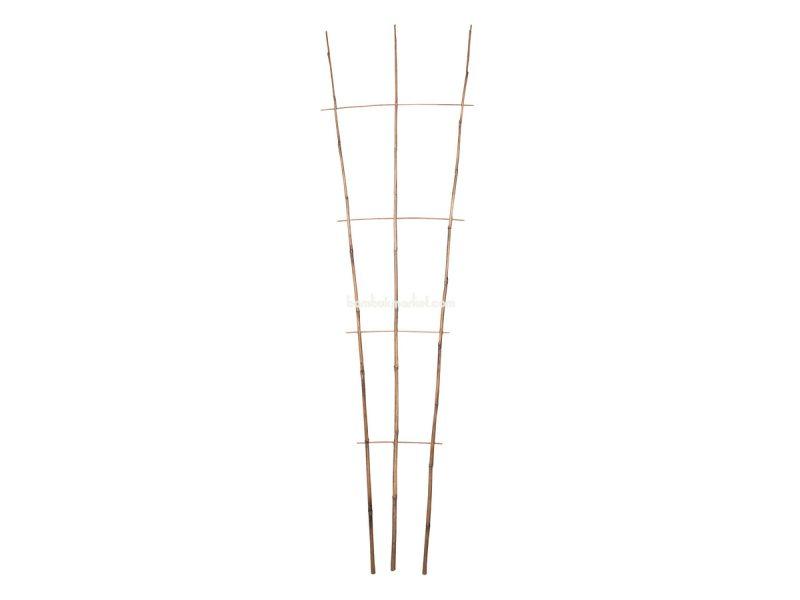 Бамбуковая опора лесенка для растений S 3*4, L 2,1м – фото 5