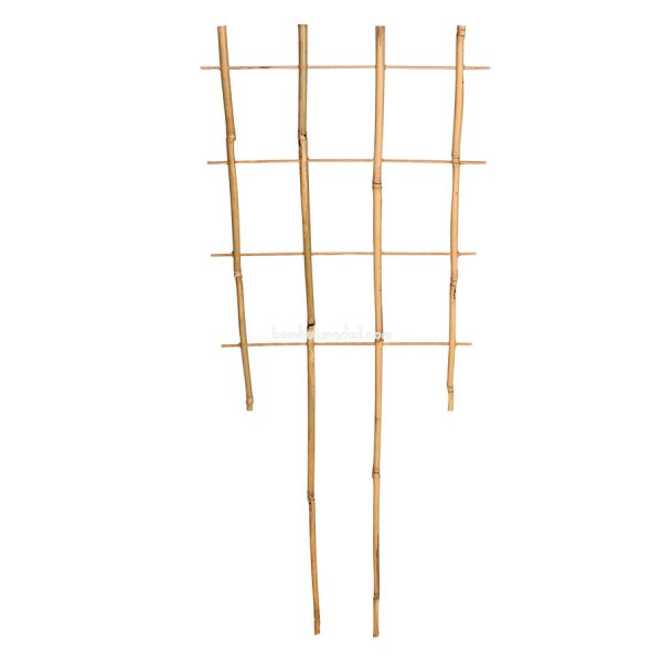 Бамбуковая опора лесенка для растений S 4*4, L 0,75м – фото 9