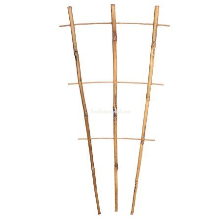 Бамбуковая опора лесенка для растений 3*3, L 2,1м - фото 1