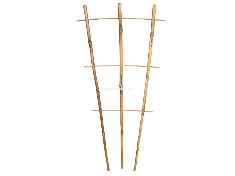 Бамбуковая опора лесенка для растений S 3*3, L 0.6м – фото 8