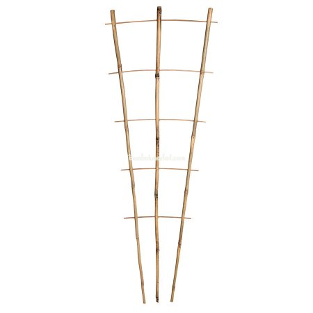 Бамбуковая опора лесенка для растений 3*5, L 2,1м - фото 1