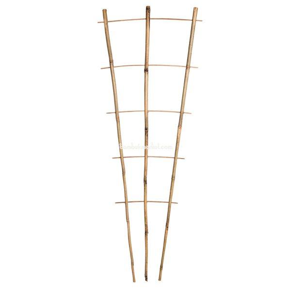Бамбуковая опора лесенка для растений S 3*5, L 1,1м – фото 8