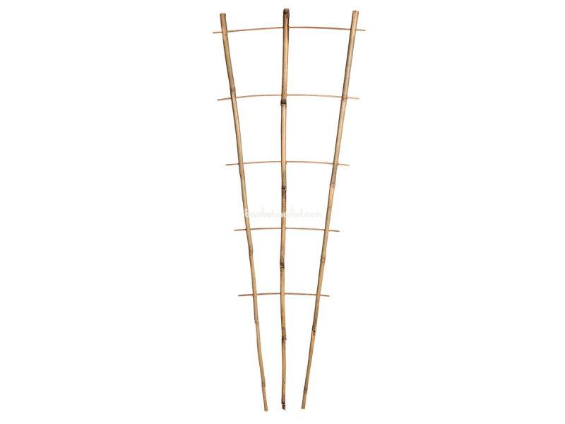 Бамбуковая опора лесенка для растений S 3*5, L 1,1м – фото 12