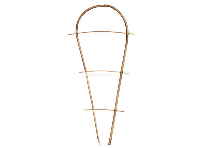Бамбуковая опора дуга для растений S 3, L 1,2м – фото 5