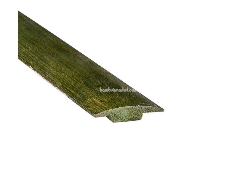 Молдинг Т-образный, зеленый – фото 1