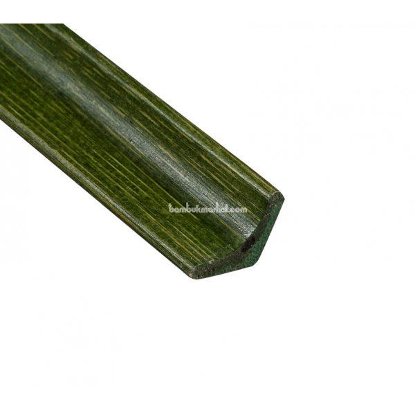 Молдинг угловой внутренний, зеленый
