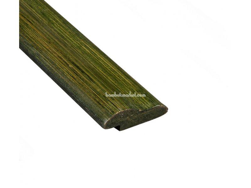 Молдинг д/отделки,верх,декор, зеленый – фото 3