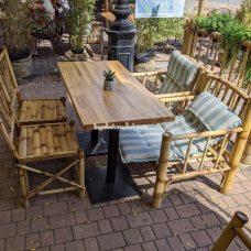 Бамбуковая мебель – фото 2