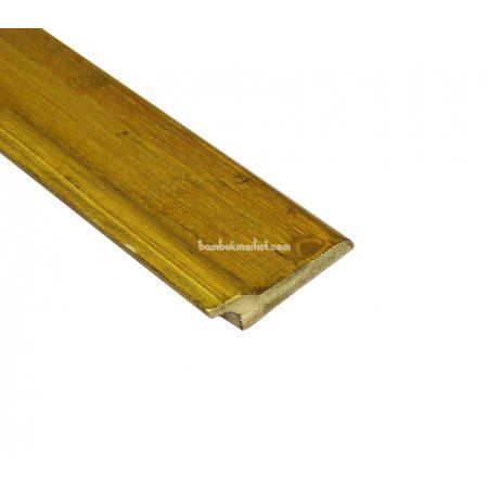 Бамбуковый плинтус, серо-зеленый  - фото 1