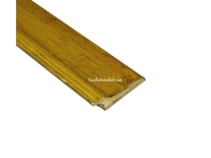 Бамбуковый плинтус, серо-зеленый  – фото 3