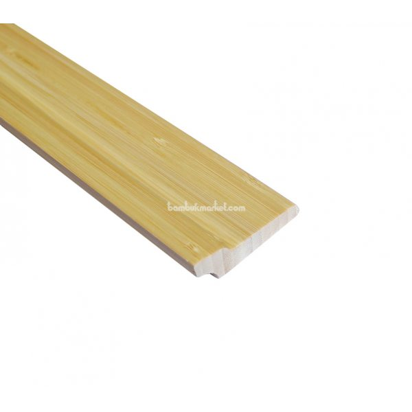 Бамбуковый плинтус, светлый