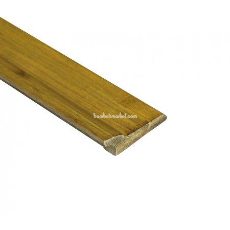 Бамбуковый плинтус, светло-бежевый